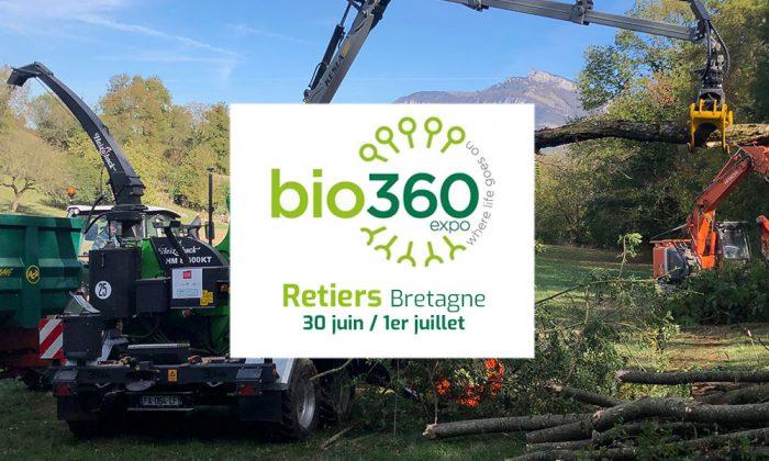 HEIZOHACK salon Bois Energie Bio360 Bretagne